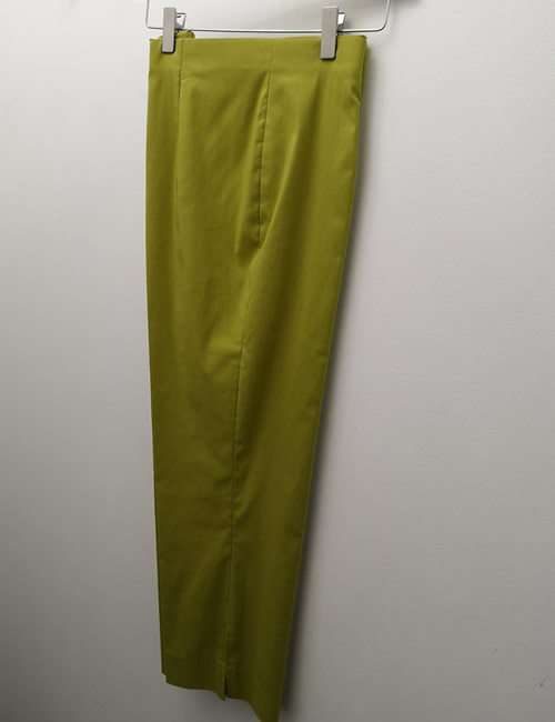 Ficelle - Crop Trouser - Lime Green