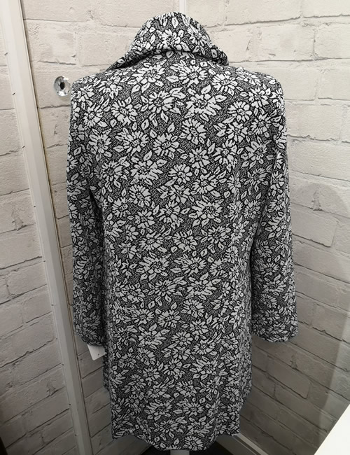 Albert & Son - Floral Long Jacket - Back