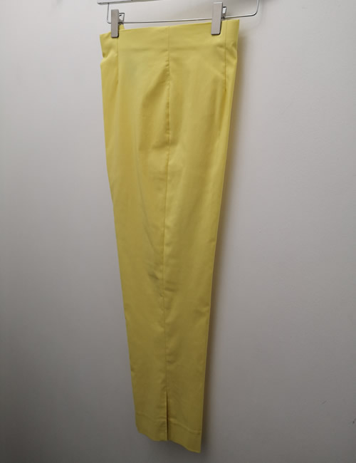 Ficelle - Crop Trouser - Yellow