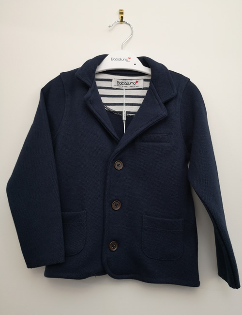 Babaluno - Navy Blue Jacket
