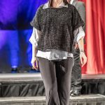 Fashion Show - Black Layered Jumper and Shirt