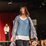 Fashion Show - Denim Blue Layered Top