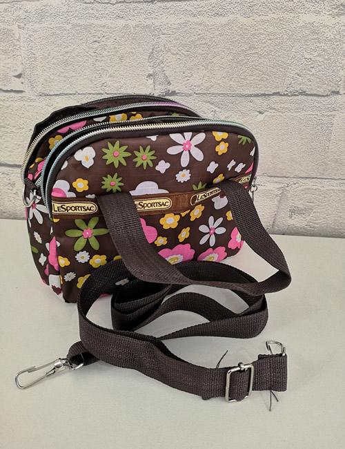 LeSportSac - Multi Pocket Bag - Daisy - Shoulder Strap