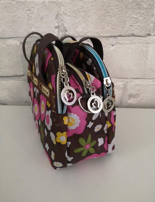 LeSportSac - Multi Pocket Bag - Daisy - Side View