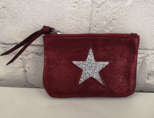 Navy Inc - Star Purse - Wine