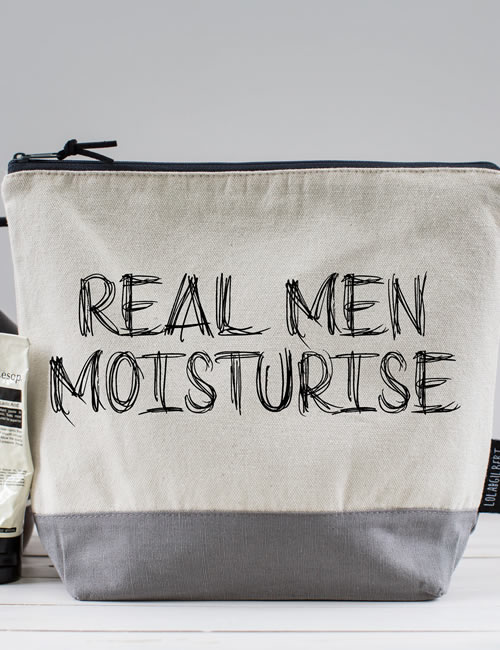 Lola & Gilbert - Real Men Washbag