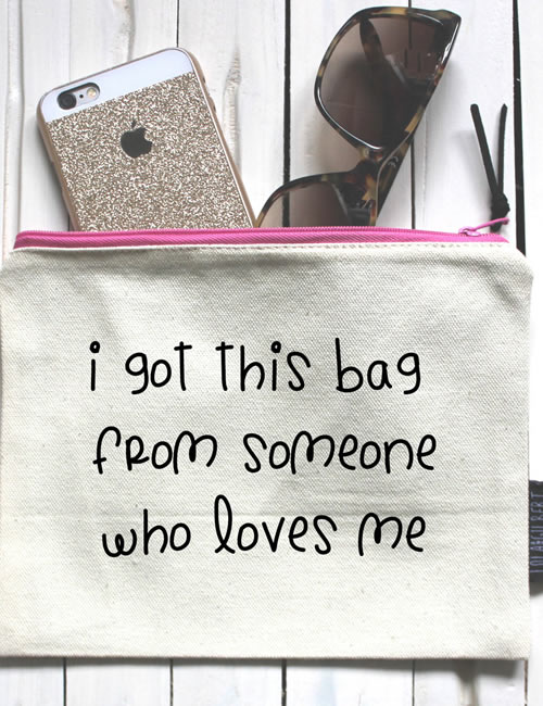Lola & Gilbert - Someone that loves me Pouch