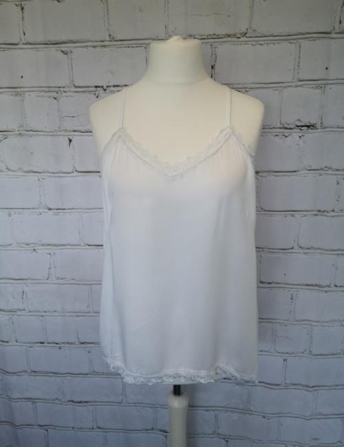 My Story - Strap Vest - White
