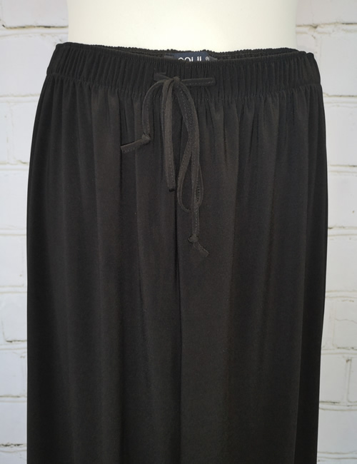 Soul Collection - Black Straight Legged Trousers - Close-up