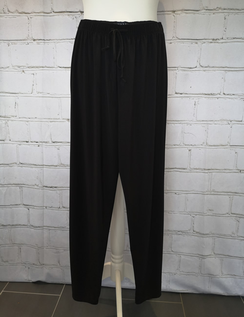 Soul Collection - Black Straight Legged Trousers