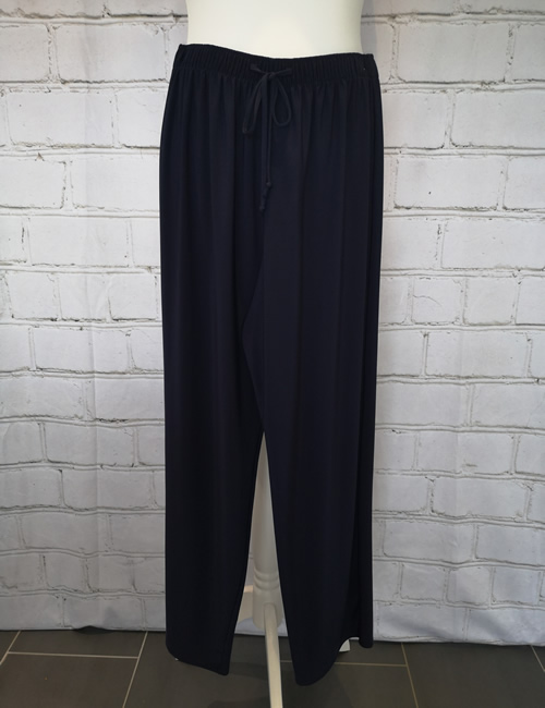 Soul Collection - Navy Blue Straight Legged Trousers