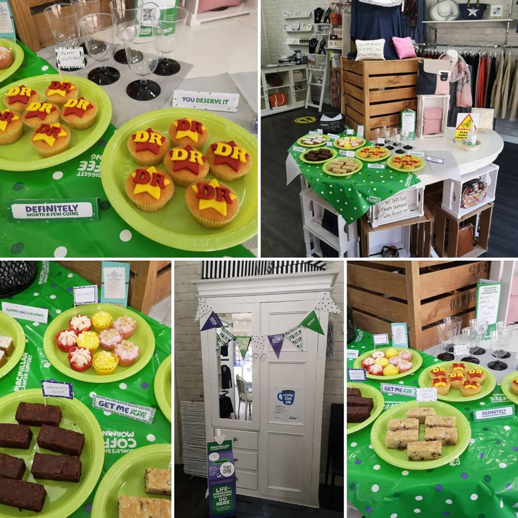 Macmillan Coffee Morning at The Dressing Room