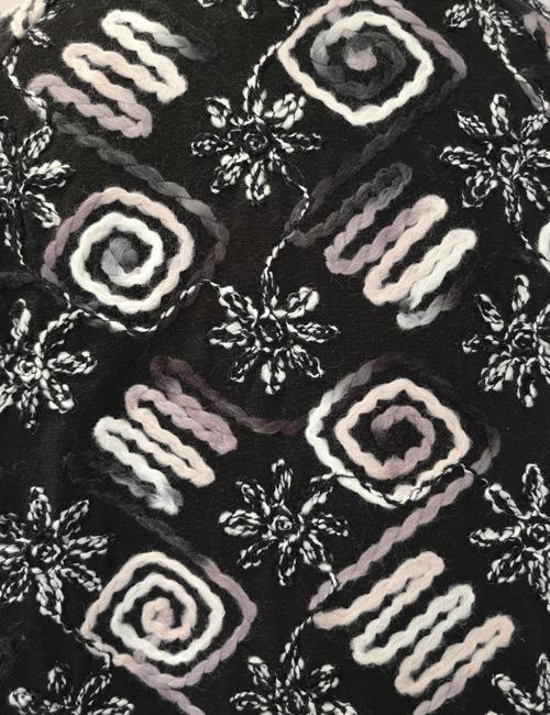 LVE Clothing - Floral Zig Zag Jacket - Pattern