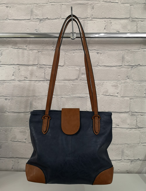 Moda - Handbag - Navy - Front