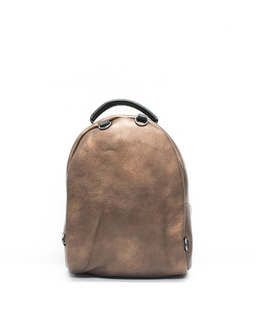 Moda - Mini Backpack - Bronze - Back