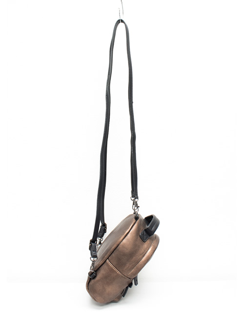 Moda - Mini Backpack - Bronze - Strap