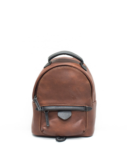 Moda - Mini Backpack - Brown