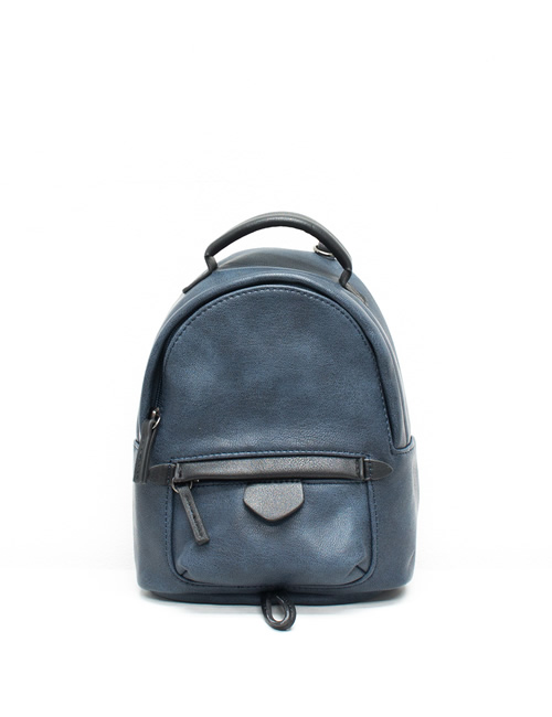 Moda - Mini Backpack - Navy Blue