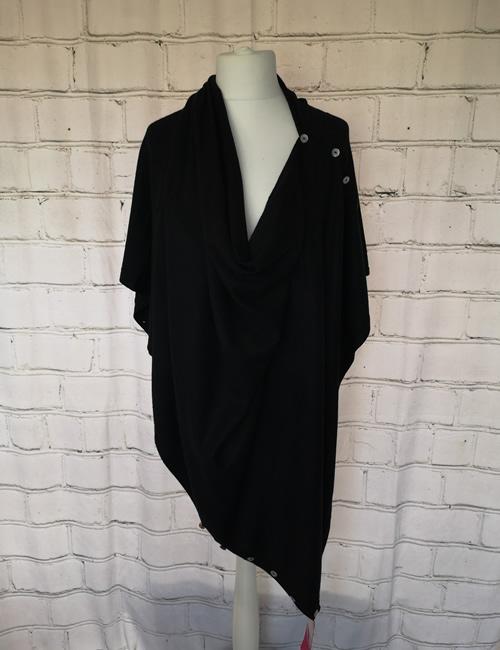 Multi Colour Wrap - Black