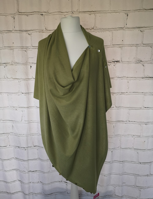 Multi Colour Wrap - Lime Green