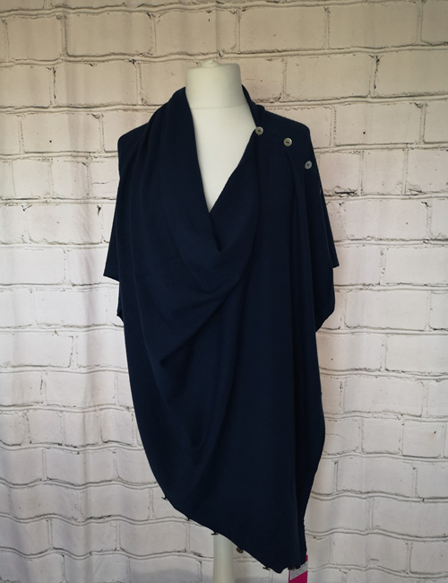Multi Colour Wrap - Navy Blue