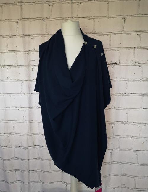 Multi Colour Wrap - Navy Blue