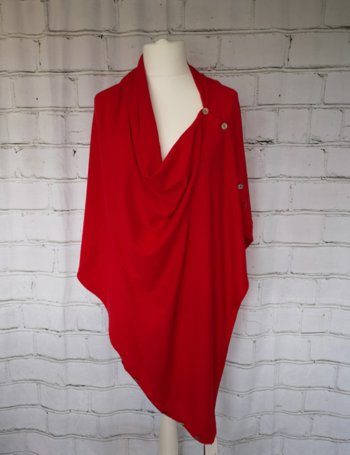 Multi Colour Wrap - Red