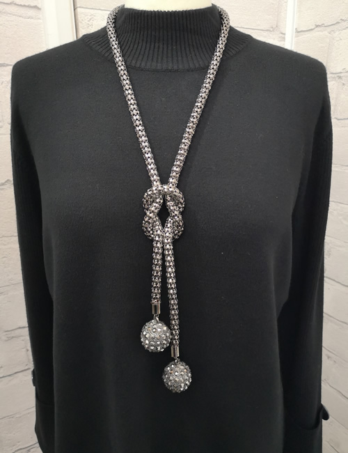 Sonrisa - Long Ball Necklace