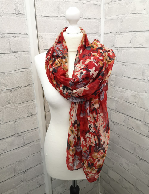 Toskatok - Red Floral