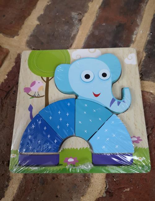 Wooden Puzzle - Elephant
