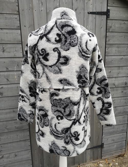 LVE Clothing - Tapestry Print Coat - Back