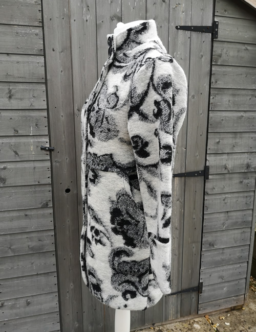 LVE Clothing - Tapestry Print Coat - Side