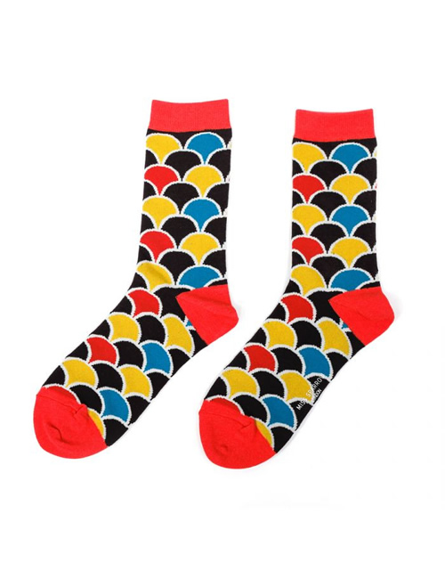 Miss Sparrow - Scallop Socks - Black