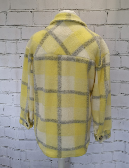 Billi - Shacket Yellow Back