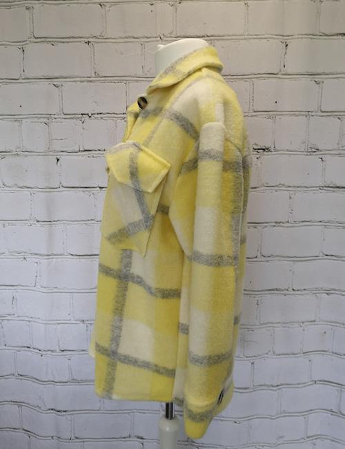 Billi - Shacket Yellow Side