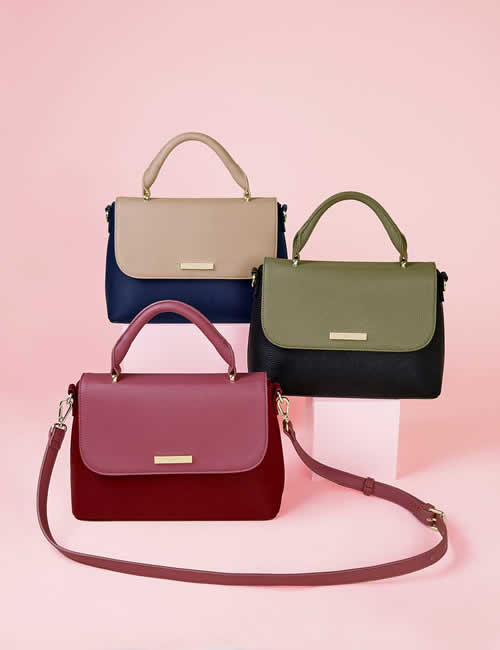 Katie Loxton - Collection of Talia Two Tone Messenger Bags
