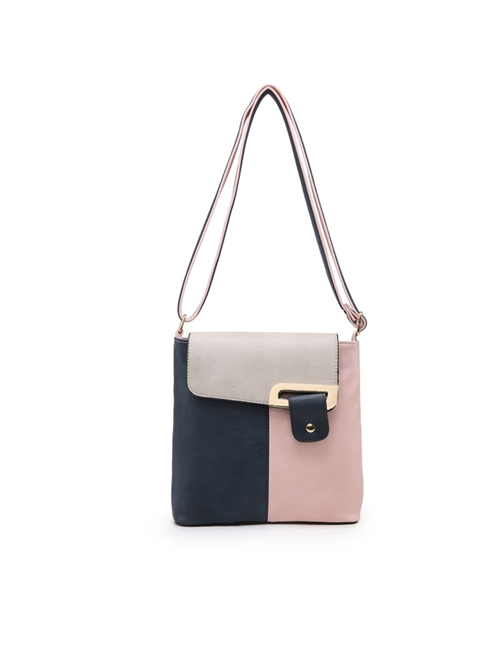 Milan Fashion - 3 Colour Shoulder Bag - Pink
