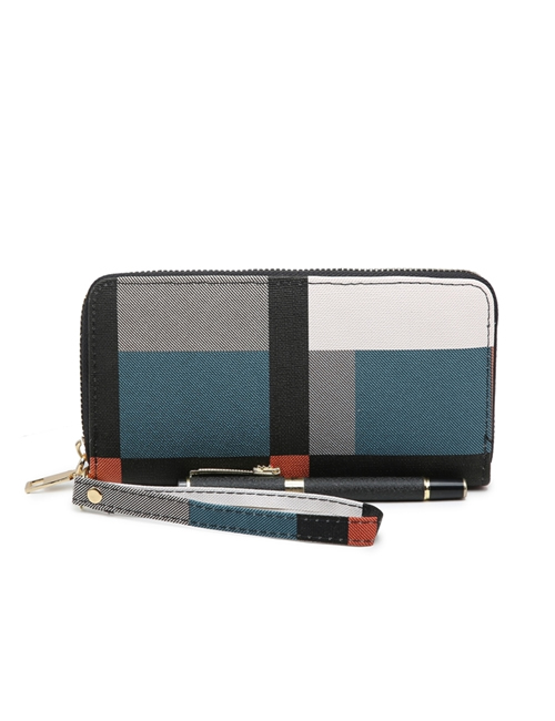 Milan Fashion - Block Colour Purse - Teal