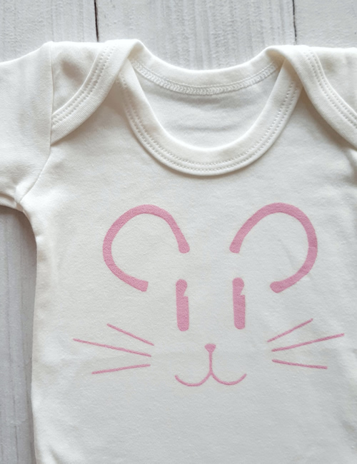 IMO - Pink Mouse Vest Front