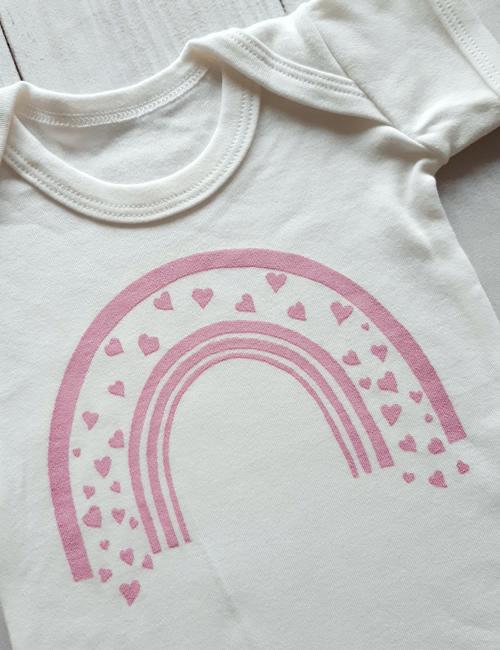 IMO - Pink Rainbow Vest
