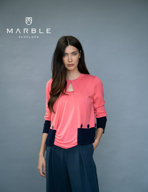 Marble - Cardigan - 6011 - 135 Location