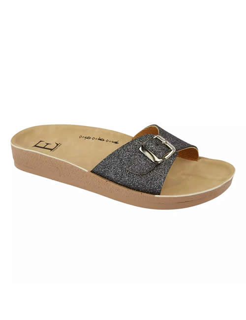Shoes By Emma - Bermuda Mule Pewter