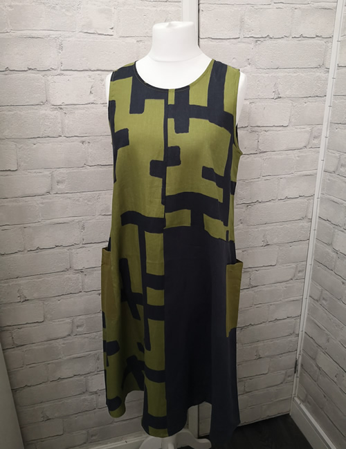 FOIL - Tetris Colour Block Dress