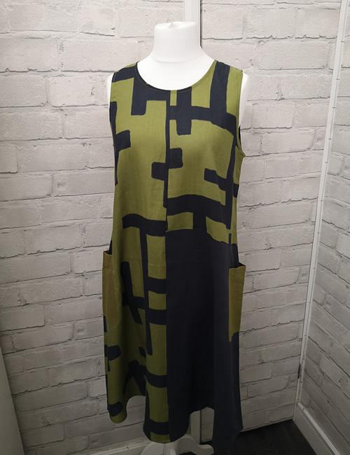 FOIL - Tetris Colour Block Dress