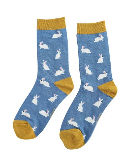 Miss Sparrow Rabbits Blue