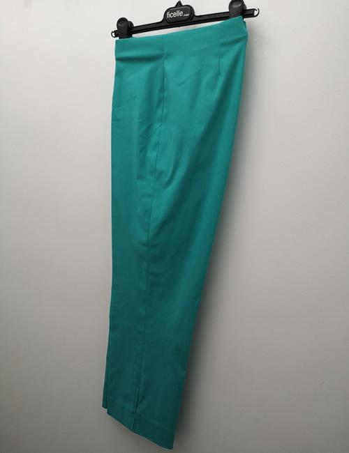 Ficelle - Crop Trouser - Emerald