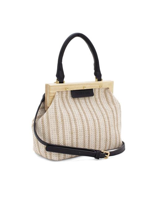 Moda - Small-Canvas-Wooden-Frame-Bag-black (2)