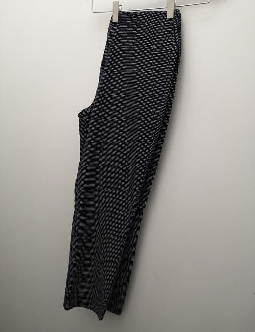Stehmann Trousers - Loli - 602 - Navy Dot Capris