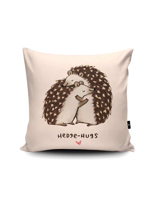 Wraptious - SophieC_Hedgehugs_Cushion