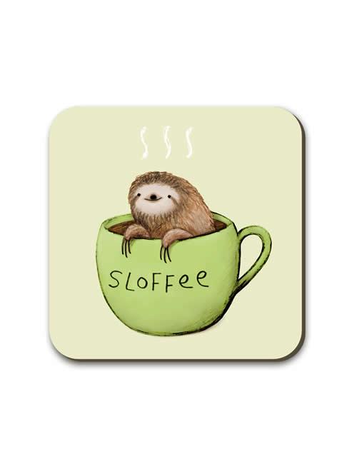 Wraptious - SophieC_Sloffee_Coaster